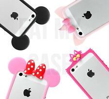 iPhone Models CARTOON BUMPER Silicone 3D Cute Cartoon Funny Soft Gel Case Cover