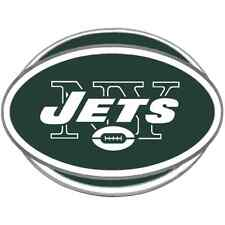 NEW YORK JETS NFL Class III Pewter Trailer Hitch Cover