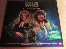 Doctor Who-ciudad De Muerte-Doble Lp Vinilo Plata RSD