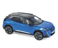 Peugeot 2008 GT 2020 blau1:43 Norev 472861 neu & OVP