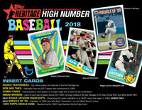 2018 Topps Heritage High Numbers Baseball U PICK SPS #701-725 + Inserts