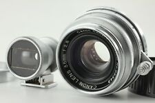 【EXC+++ w/Finder, M Mount Adapter】Canon 35mm F2.8 L39 Lens from Japan W853