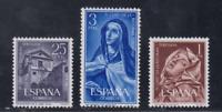 ESPAÑA (1962) MNH NUEVO SIN FIJASELLOS SPAIN - EDIFIL 1428/30 RELIGION