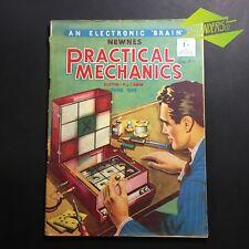 "JUNE 1953 'PRACTICAL MECHANICS' NEWNES ' AN ELECTRONIC ""BRAIN"" ENGINEERING"