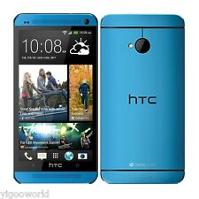 "Unlocked 5"" HTC One M8 4G LTE Smartphone Android 32GB GSM WIFI Cell Phone BLUE"