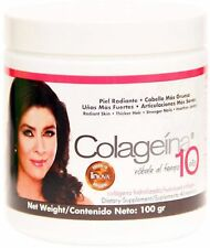 Colagenia 10 Hydrolyzed Collagen Powder 3.52 oz (Pack of 2)