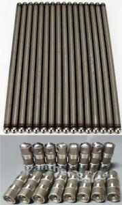 Elgin Push Rods 1985-2001 Ford 5.0 5.0L 302 Roller Lifters & Pushrods set of 16