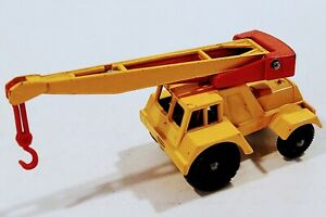 11-C2 EXC Cond!! Taylor Jumbo Crane Red Weight Lesney Matchbox circa '65