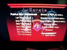Karate Connection Kenpo Karate purple belt Dvd