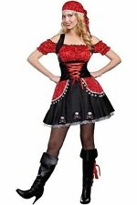Pirate Women's Adult 2 Piece Halloween Costume Small 4-6 (New) - FREE SHIP