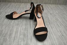 **Steve Madden Carrson Ankle Strap Dress Sandal, Big Girl's Size 6, Black NEW