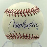 Carlos Beltran Signed Autographed Official Major League Baseball PSA DNA COA
