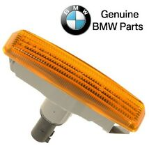 NEW BMW E39 Front Left or Right Additional Side Light with Yellow Lens Genuine