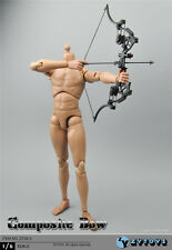 ZY TOYS 1:6 Composite bow set Model W arrows and broadheads ZY16-5 Figure Toy