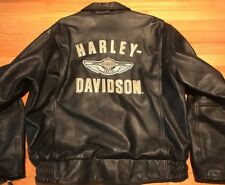 Harley Davidson 100th Anniversary Leather Jacket Size XL New Without Tags