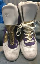 Creative Recreation Purple Gold Sneakers Shoes Size 10