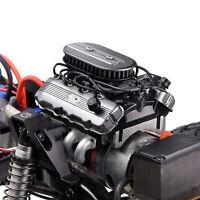 GRC V8 Motor Engine Hood Fan Radiator for 1/10 TRAXXA TRX4 TRX6 SCX10 RC Crawler
