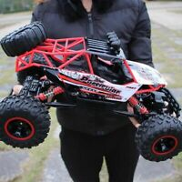 4WD 1/12 RC Monster Truck Off-Road Vehicle 2.4G Remote Control Buggy Crawler Car
