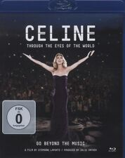 "CELINE DION ""THROUGH THE EYES OF THE WOLRD"" BLU RAY NEW+"