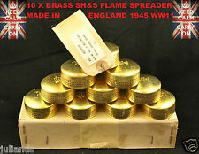 SH&S BRASS FLAME SPREADER PRIMUS STOVE MILITARY STOVE ARMY STOVE SPARE PARTS