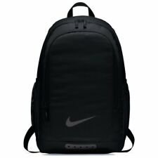 NIKE Academy Football Black Backpack Rucksack School Gym