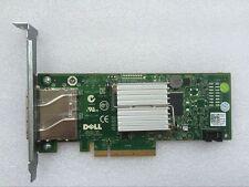 Dell PERC H200E 6Gb/s SAS Dual Port HBA Host Bus Adapter PCI-E Card 12DNW
