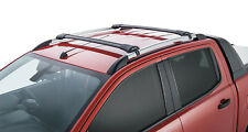Rhino Pair Black Stealth Roof Racks FOR Ford Ranger (with Roof Rails)