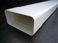 LA CUCINA Flachkanal 150er 1m Länge 180x95 Lüftungstechnik für Dunstabzugshauben