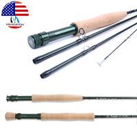 Extreme Fly Fishing Rod 5/8WT Graphite IM8 Medium-fast Fly Fishing Rod Tube