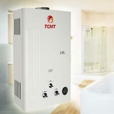 18L LPG Gas Hot Water Heater Instant Boiler Digital Display Shower Home Propane
