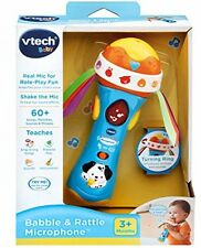 VTech Baby Babble And Rattle Microphone - Brand New & Sealed !!