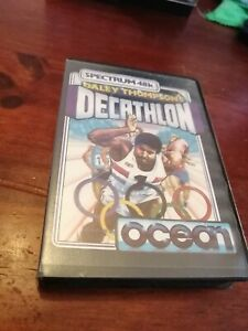 Daley Thompson's Decathlon - ZX Spectrum 48K/128K Ocean 1984 Tested/Working Clam