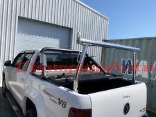 3'' Polished Silver Alloy Ladder Rack for Volkswagen Amarok 2010-2019 TUB