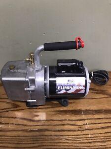 JB Industries DV-6E Eliminator 6 CFM Refrigeration A/C Vacuum Pump