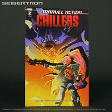Marvel Action CHILLERS #2 RI 1:10 variant IDW Comics 2020 AUG200546 (W) Whitley