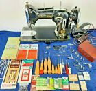 RARE New Home Light Running Sewing Machine WORKS Motorized MEGA LOAD Accessories