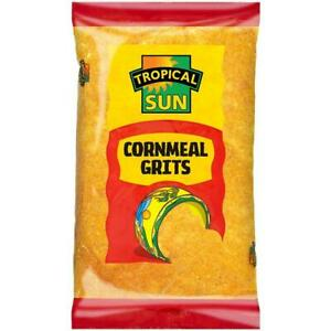 Tropical Sun Cornmeal Grits (Polenta) 1.5kg x 2 packets