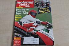 164782) Ducati 851 im TEST - Motorrad Reisen Sport 13/1988