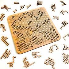 Mind Bending Puzzle - Hard (100 Pieces) - Fractal Puzzle - Wood Fractal Puzzl...