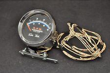 Vtg Sun Tach Tachometer Gauge 8000 RPM Model ST-602 + Mounting Hardware Shown