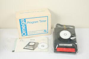 Omega Program Timer # 461-022 Photo Dark Room Timer Mint In Box New Old Stock