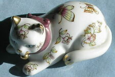1986 Franklin Mint Satsuma Curio Cat Figurine
