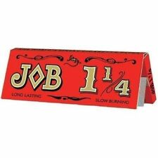 10 x JOB Cigarette Rolling Papers 1 1/4 - Free Same Day Express Shipping