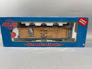 Atlas 8194-1 O 40' Wood Reefer Car Arizona Brewing Co. #2200 (3 Rail)