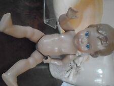 """TURTLE MARK DOLL"" Vintage Rheinische hard gummi doll GERMANY Collectable"