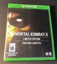 Mortal Kombat X [ Limited Edition ] (XBOX ONE) USED