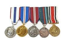 More details for queens jubilees, voluntary service & special constabulary miniature medal group