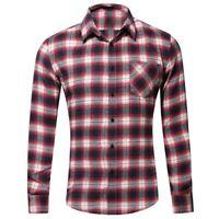 Long Sleeve Dress Shirts Casual T-Shirt Fashion Stylish Slim Fit Tops Men Luxury