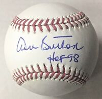 Don Sutton Los Angeles Dodgers Signed Baseball HOF 98 Inscription PSA/DNA COA