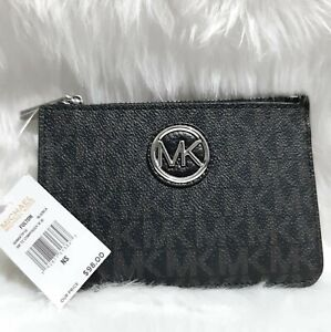 US BOUGHT MICHAEL KORS FULTON SM TZ COIN POUCH WITH I.D